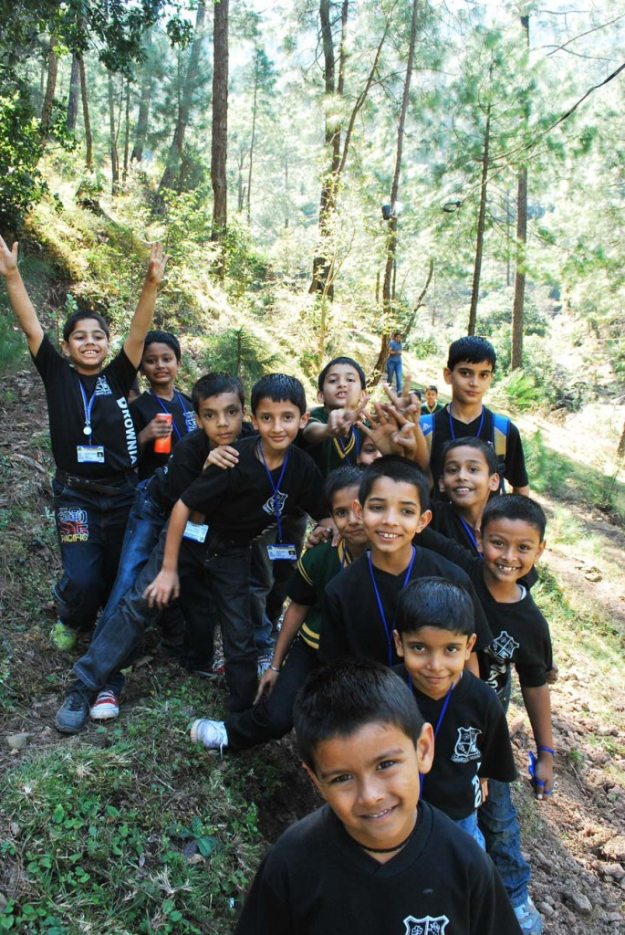 trails of happiness at camps near shimla